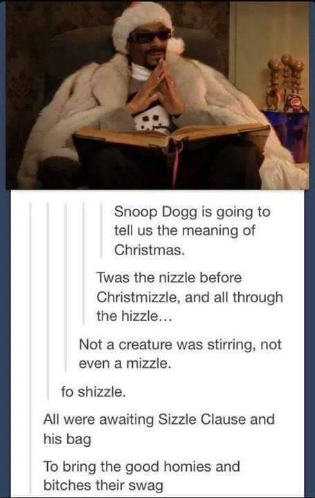 Snopp Christmizzle