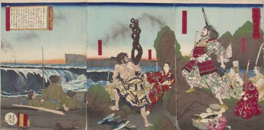 He was still revered for his skill even into the Meiji Period.